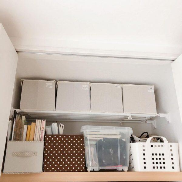 布製ボックスを活用した収納アイデア