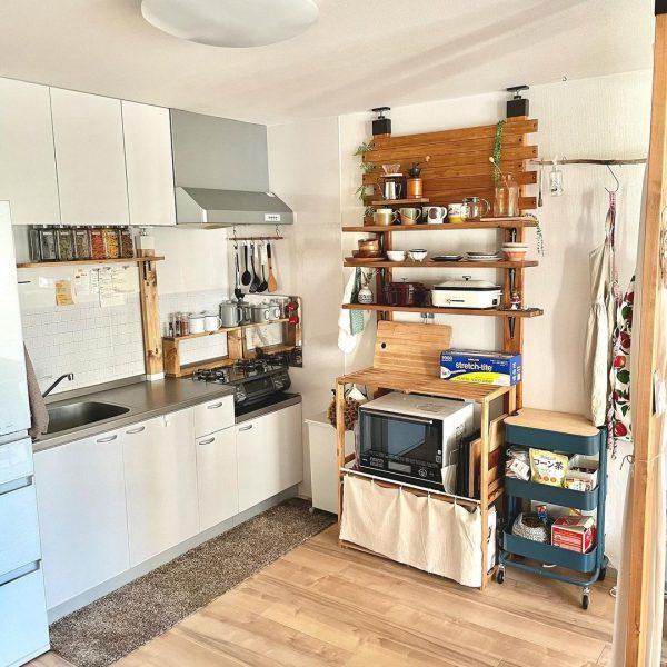 キッチンの収納2