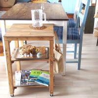 キッチンワゴンの簡単DIY特集!他にはない便利な棚の作り方をご紹介