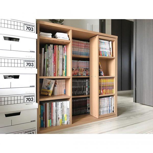 本が多い人におすすめのスライド本棚