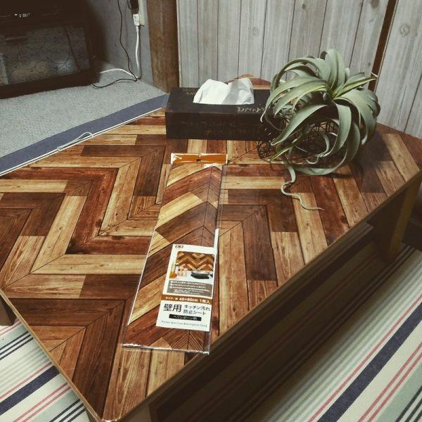 テーブル リメイク DIY7