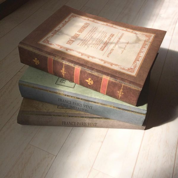 読まない本→洋書風オブジェにする