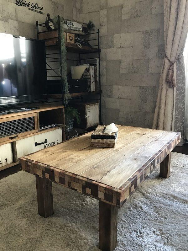 DIYで作るおしゃれな手作りこたつテーブル