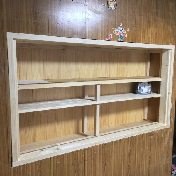 押入れを活用した本棚
