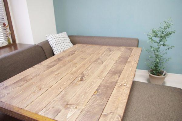 テーブル リメイク DIY9