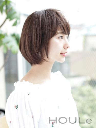 イエベ春に合う暗めの髪色【ショート】2