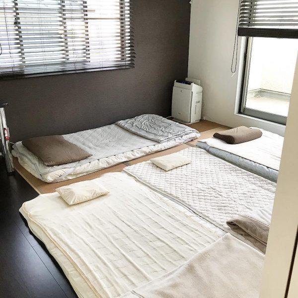 家族みんなで和室に寝るのに最適な寝室