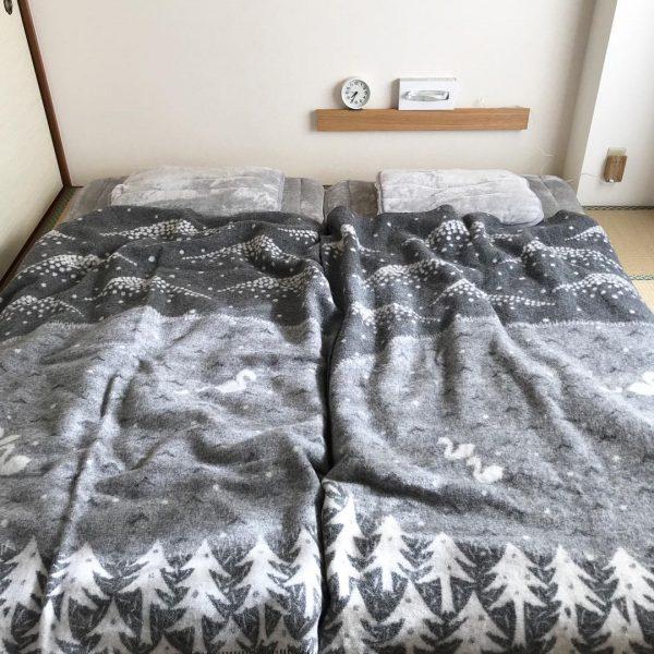 日中も使いやすい和室を活かした寝室
