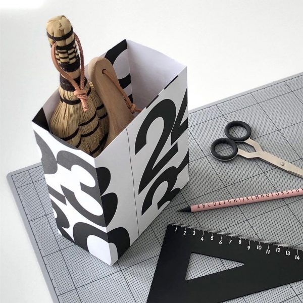 おしゃれな紙物→ボックスにする