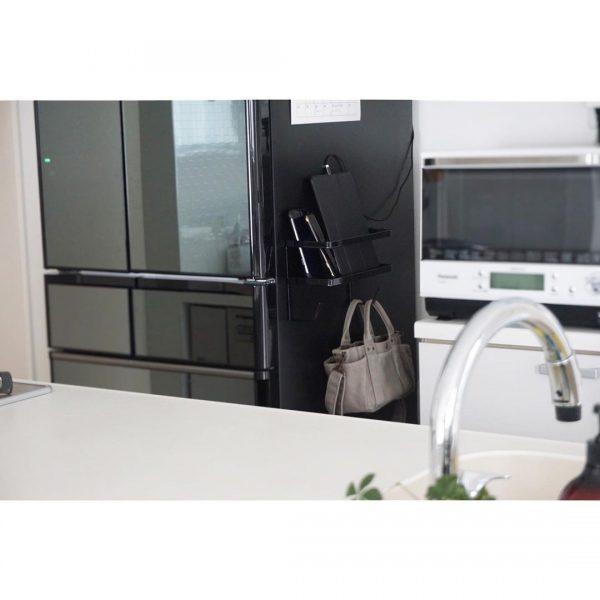 冷蔵庫横スペースを活用