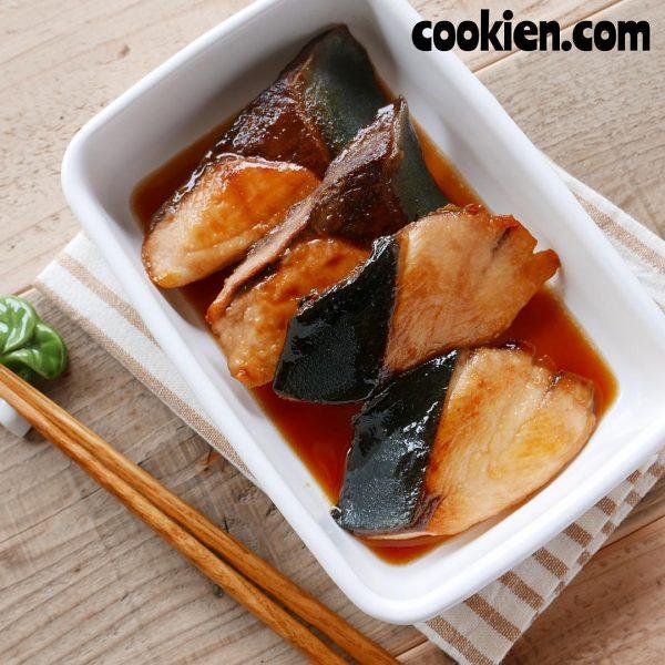 人気魚料理のメインメニュー☆ぶりの照り焼き