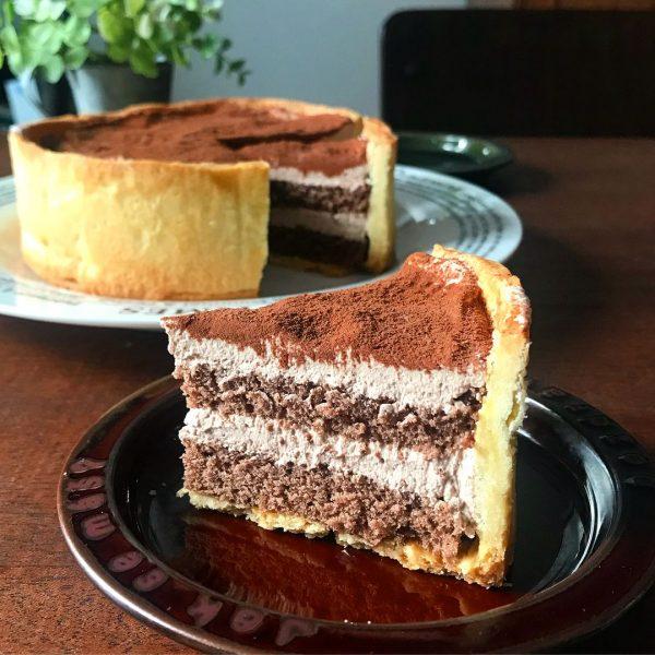ホワイトデーには手作りチョコタルトケーキ