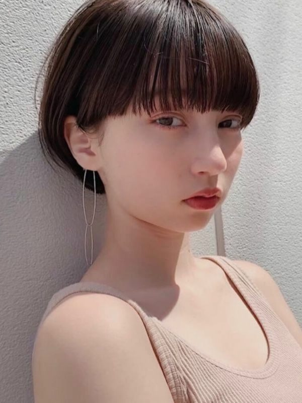2021年春の最新トレンド前髪4