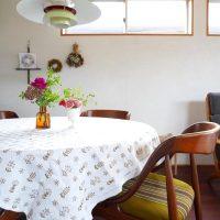 【テーブルクロス】を敷いて素敵なムードづくり♡食卓を華やかでおしゃれに