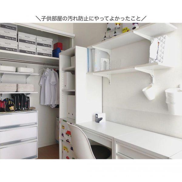 収納力抜群で過ごしやすい子ども部屋