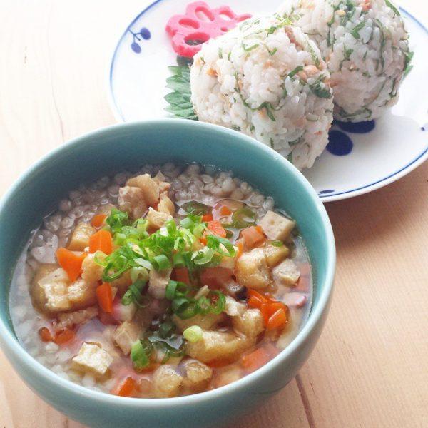 栄養満点!人気の蕎麦米汁