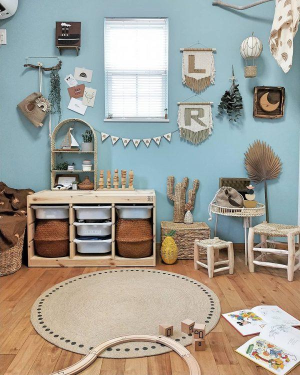 モデルルームのような子供部屋