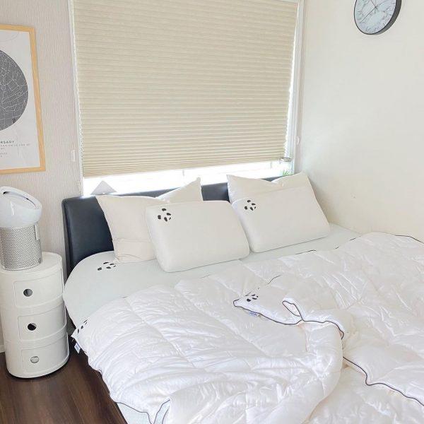 一人暮らしのモノトーン部屋6
