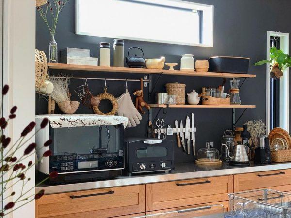 お気に入りのキッチンアイテムがディスプレイに