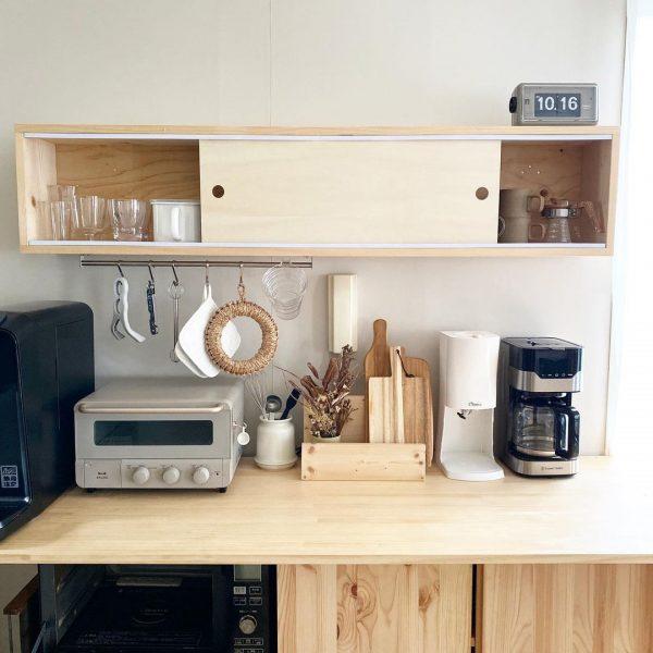 キッチン収納をライフスタイルに合わせてDIY