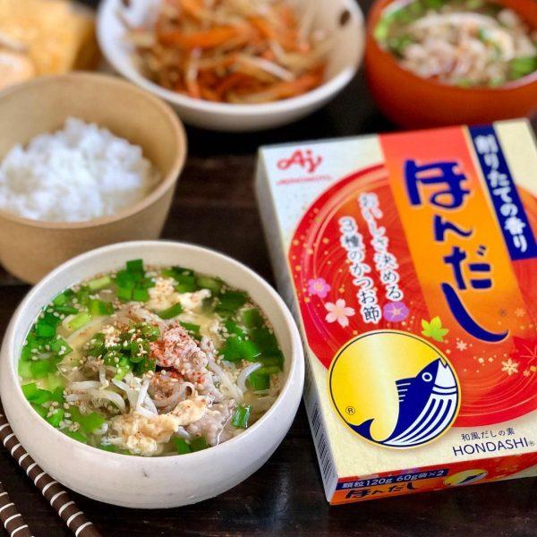 おすすめレシピ!豚肉のニラたま味噌汁