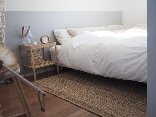 すっきりシンプルな寝室
