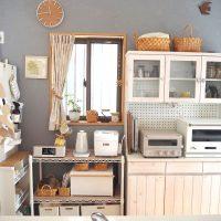 スチールラックを使った収納アイデア術!綺麗なキッチンを保つ整頓方法をご紹介♪