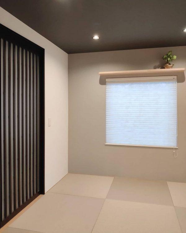 モダンテイストの和室