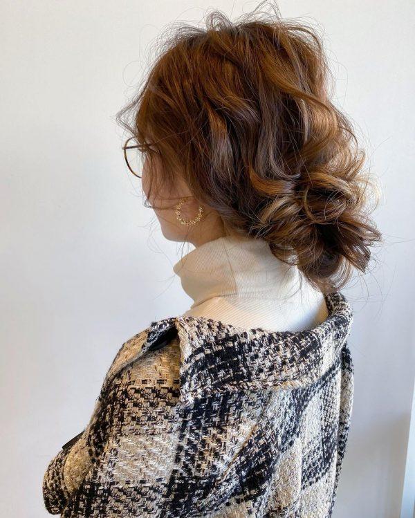 ボリューム感も◎卒業式向けまとめ髪スタイル