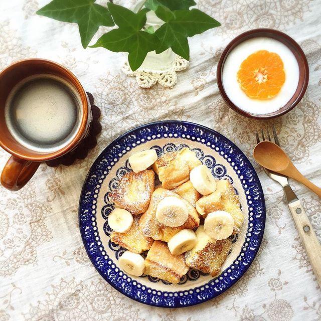 節約朝ごはんに!栄養満点フレンチトースト