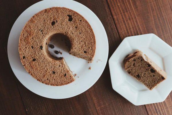大人味!コーヒーとチョコのシフォンケーキ