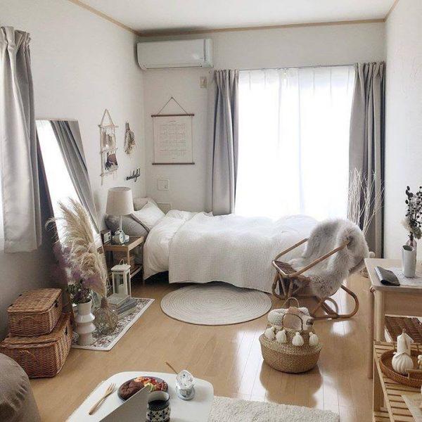 30代女性に似合う韓国風一人暮らしの部屋