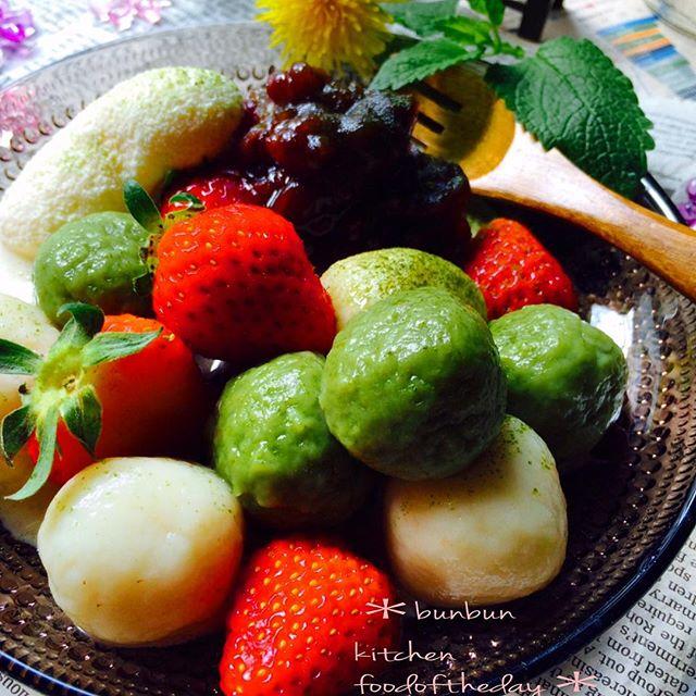 白玉粉の美味しいお菓子レシピ10
