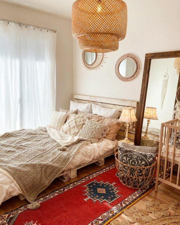 塗装でおしゃれなすのこベッド