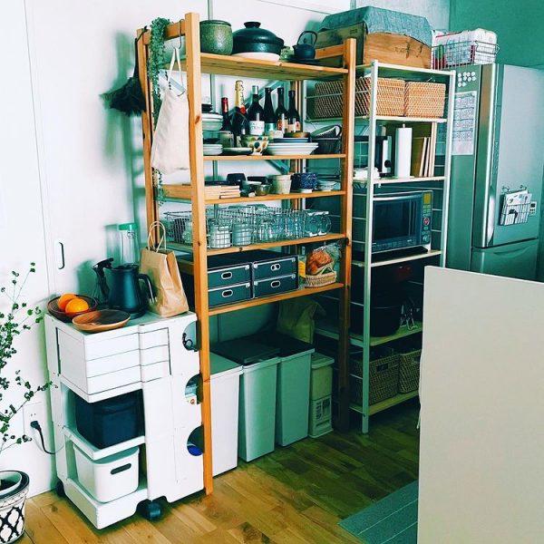 初めての対面キッチン