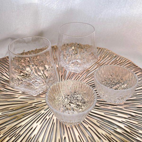 (4)ガラスグラス・小鉢