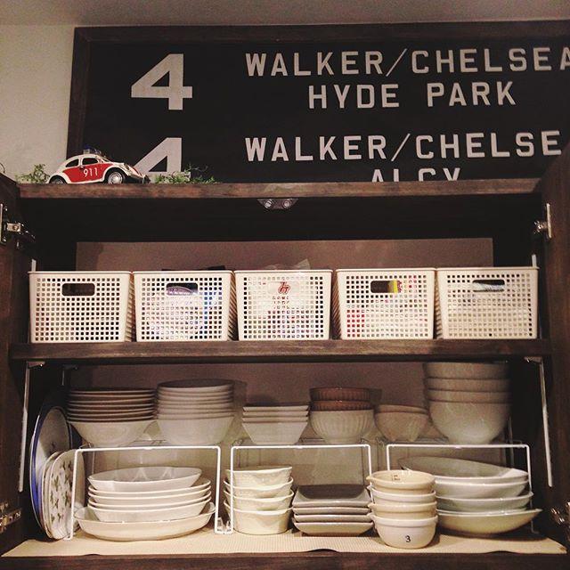 使いやすい食器棚にするためのアイデア
