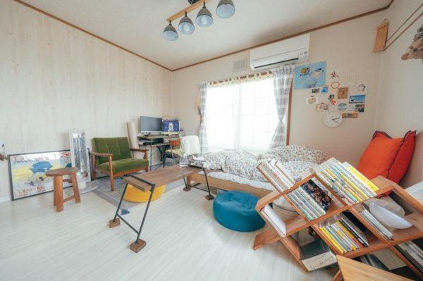 自分だけの家具で作る一人暮らしの部屋