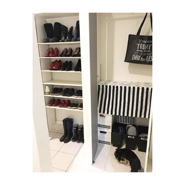 長靴・ブーツの収納アイデア集 しまう4