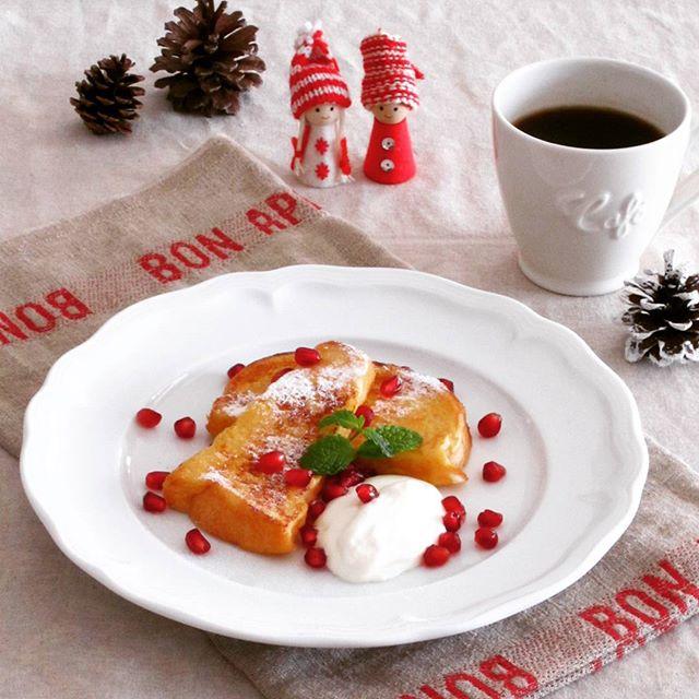 人気の朝ごはん!フレンチトースト