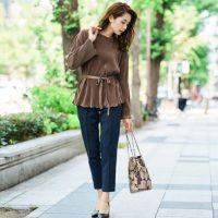 40代女性に似合う着痩せコーデ【2021】ぽっちゃり体型をおしゃれでカバー