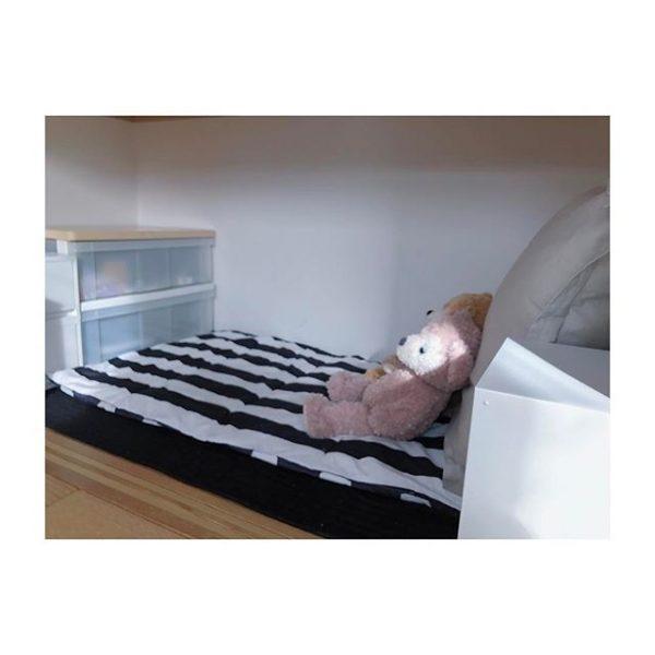 ベッドを配置する押入れDIY