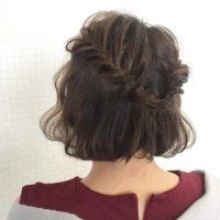 卒業式の母親向けの簡単ショートヘアアレンジ!お母さん世代に似合う髪型特集