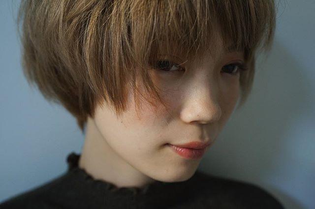 狭い前髪×マッシュショート