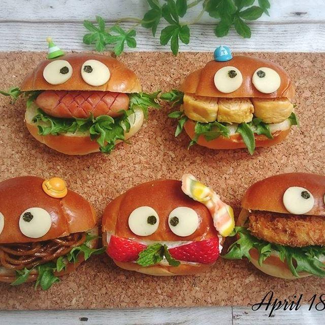 生クリームイチゴロールサンドイッチ