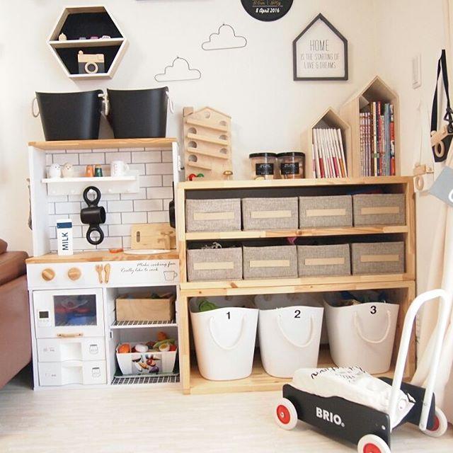 アパートでの赤ちゃんのお部屋作り 収納4