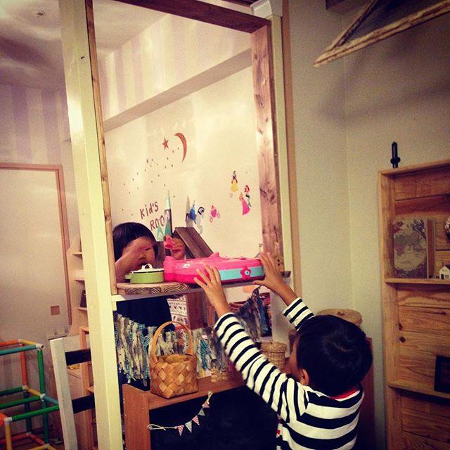ディアウォールで子供部屋の収納16