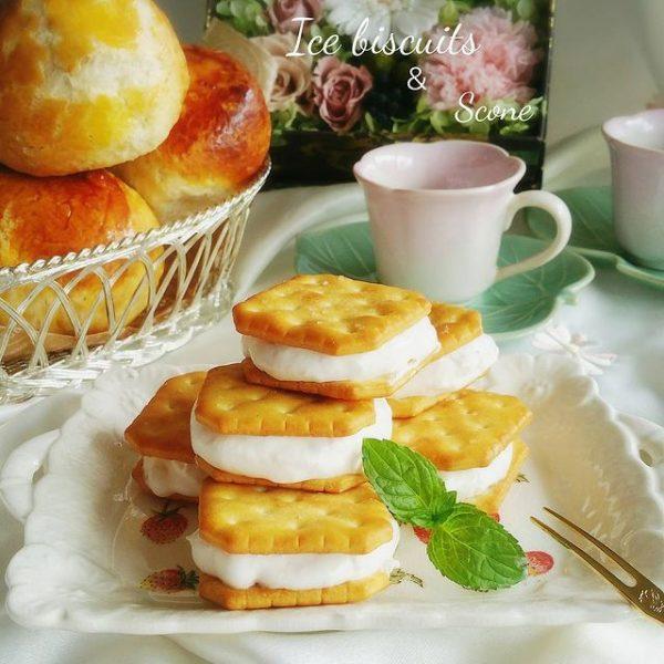 簡単スイーツの人気レシピ☆ビスケットアイス