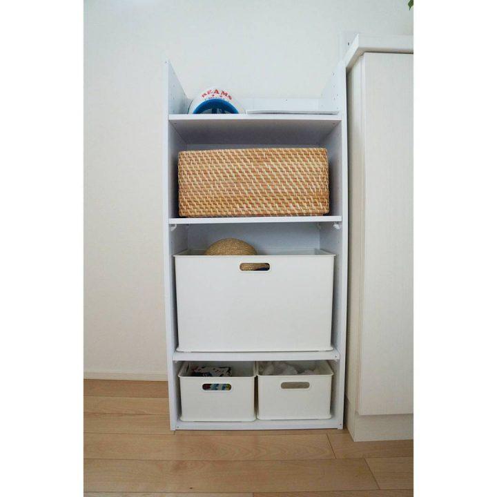カラボにインナーボックスを使った食器棚