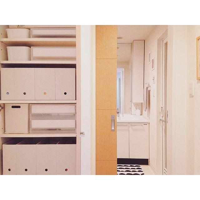 アパートでの赤ちゃんのお部屋作り 収納2